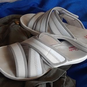 Clark's collection sandals.